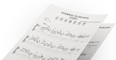 Tablature mySongBook