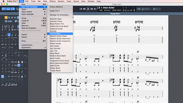 Discover all of the Guitar Pro features